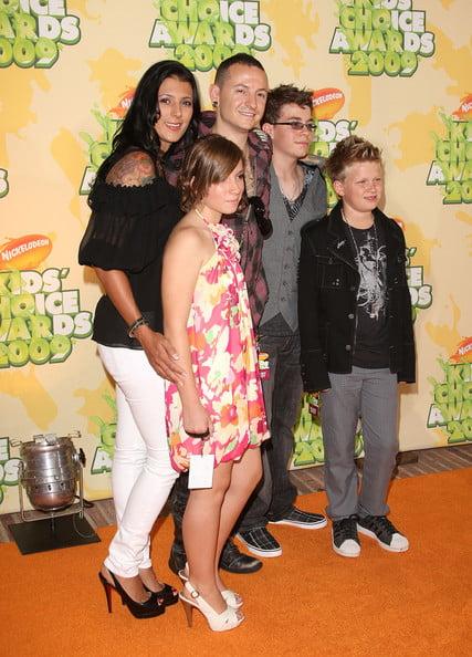 Chester s rodinou
