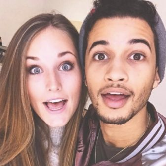 Jordan Fisher's Girlfriend Ellie Woods