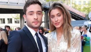 Jessica Serfaty Ed Westwick's Girlfriend