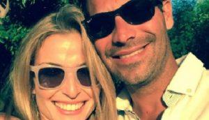Frank Suarez' wife Gloria Fonts Suarez