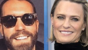 Robin Wright's New Younger Boyfriend Clement Giraudet