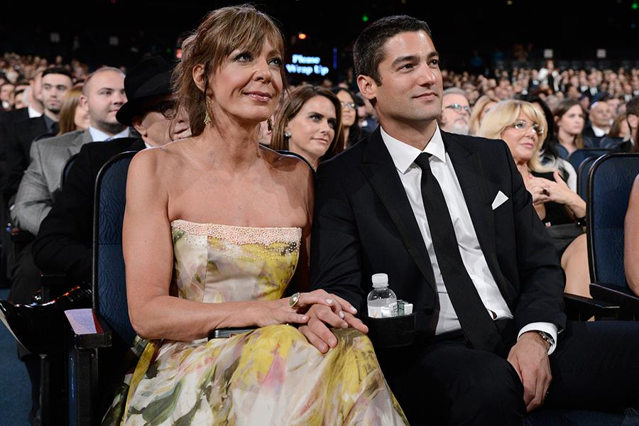 Allison Janney, 55, Attends Emmy Awards with Much Younger ...