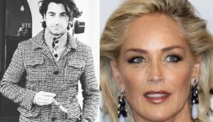 Sharon Stone's young boyfriend Angelo Boffa
