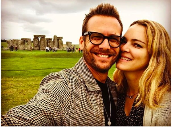 Gabriel Macht's wife Jacinda Barrett (Bio, Wiki)  Jacinda Barrett And Chris Hardwick