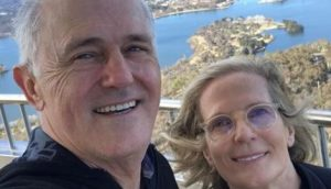 Malcolm Turnbull's wife Lucy Turnbull