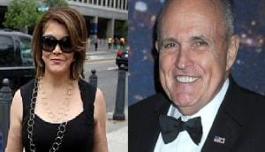 Rudy Giuliani's girlfriend Jennifer LeBlanc