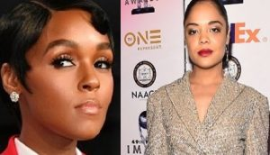 Tessa Thompson's Girlfriend Janelle Monae