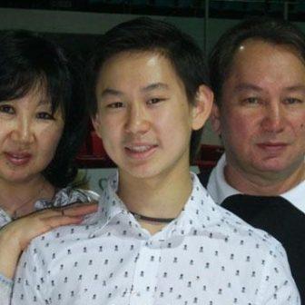 Denis Ten's Parents Oksana Ten & Yuri Ten