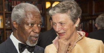 Nane Maria Annan Kofi Annan's Wife