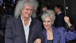 Brian May's Wife Anita Dobson