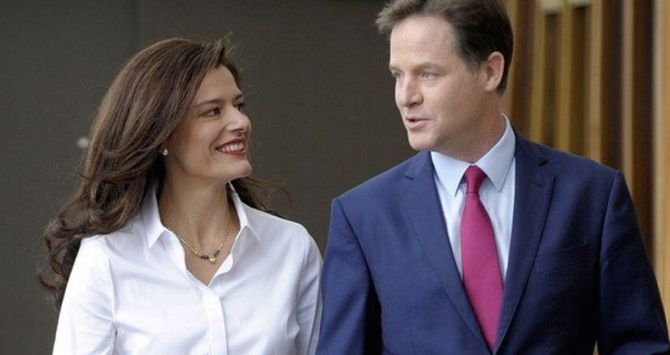 Nick Clegg's Wife Miriam González Durántez