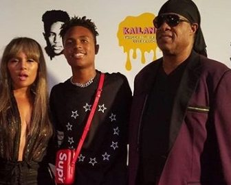 Mandla Morris' Parents Stevie Wonder & Kai Millard Morris