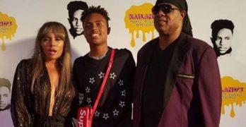 Mandla Morris' Parents Stevie Wonder & Kai Millard Morris