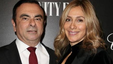 Carlos Ghosn's Wife Carole Ghosn