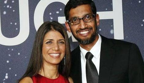 Google's Sundar Pichai's Wife Anjali Pichai