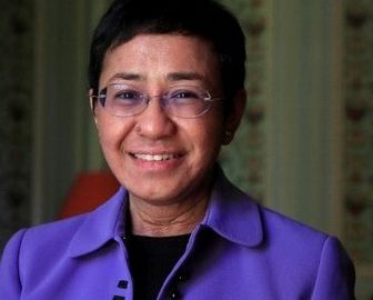 Maria Ressa Filipina Journalist/ Time's Person Of the Year
