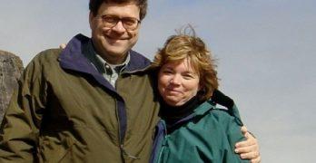 William Barr's Wife Christine Barr