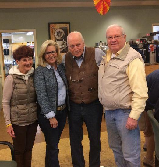 Dick Cheney's Daughter Liz Cheney (Bio, Wiki)