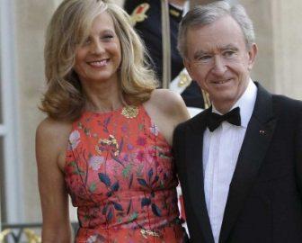 Bernard Arnault's Wife Helene Mercier