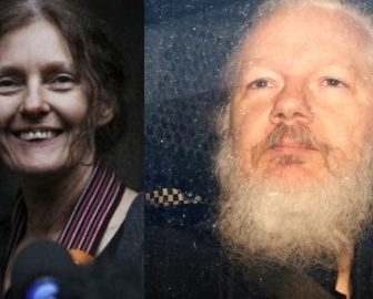 Julian Assange's Mother Christine Assange