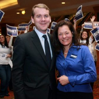 Michael Bennet's wife Susan Daggett