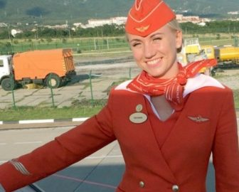 Tatyana Kasatkina Hero Air Stewardess from AeroFlot