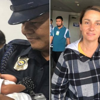 Jennifer Talbot US Woman Tried to Smuggle newborn in carry-on luggage