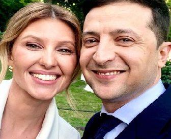 Volodymyr Zelensky's Wife Olena Zelenska