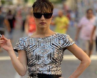 Marie Benoliel, Chanel Runway Crasher