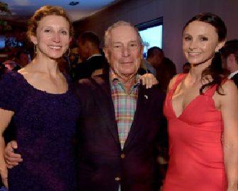 Michael Bloomberg's Daughters Emma & Georgina Bloomberg