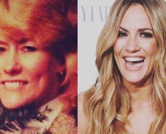 Caroline Flack's Mother Christine Flack