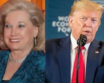 President Donald Trump's Sister Elizabeth Trump Grau
