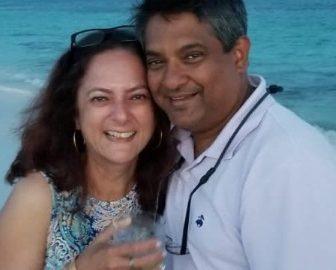 Chef Floyd Cardoz' wife Barkha Cardoz