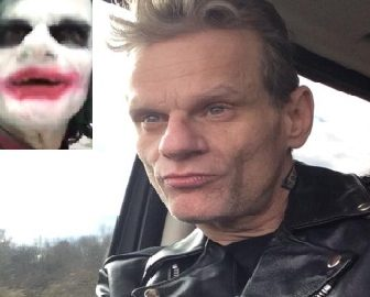Jeremy Garnier Man in Joker Makeup Arrested for terrorist threats