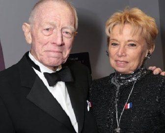 Max von Sydow's Wife Catherine Brelet