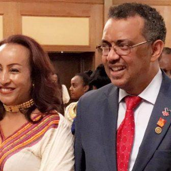 WHO Dr. Tedros Adhanom's Wife  Kidist