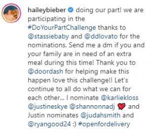 Celebrities donating