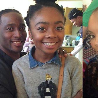 Skai Jackson's parents Jacob Jackson and Kiya Cole