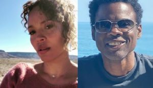 Carmen Ejogo is the current leading lady in the heart of non other than longtime actor and funny man, Chris Rock.