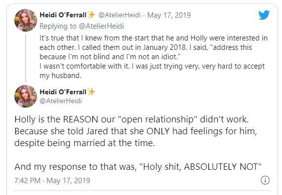 Heidi O'Ferrall,Jared Knabenbauer wife